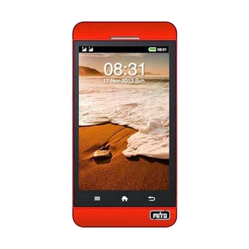 harga Mito 208N Merah Handphone Blibli.com