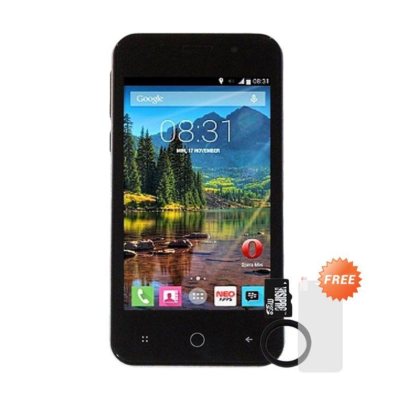 MITO A120 Smartphone + Micro SDHC 8GB Class 6 + Elastic Ring Bumper + Screenguard