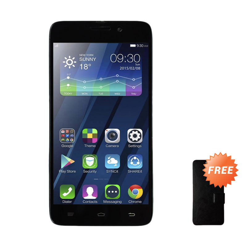 Mito A550 Smartphone [RAM 2 GB/ROM 16 GB] + Free Leather Case