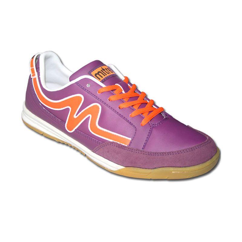 Mitre Futsal Shoes Medial Purple