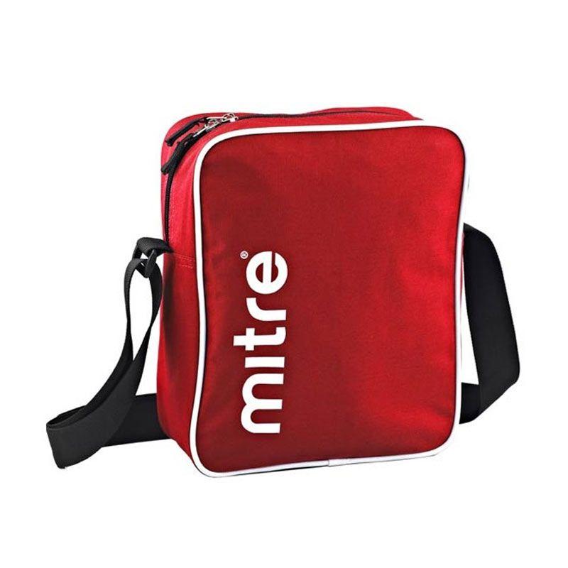 Mitre Shoulder Bag Red