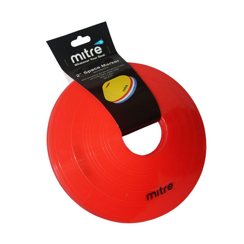 Mitre Space Marker 2 inch Set 10 Red