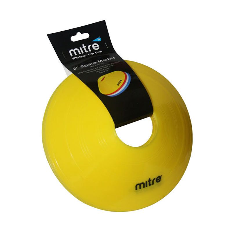 Mitre Space Marker 2 inch Set 10 Yellow