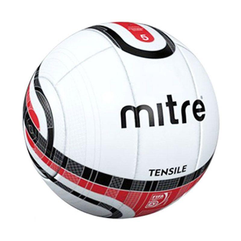 Mitre Tensile 10P No. 5 Putih Merah Bola Tanding