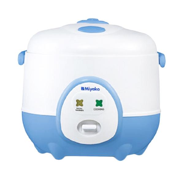 Miyako MCM-606 A Biru Rice Cooker Plus Magic Warmer [0.6 L]
