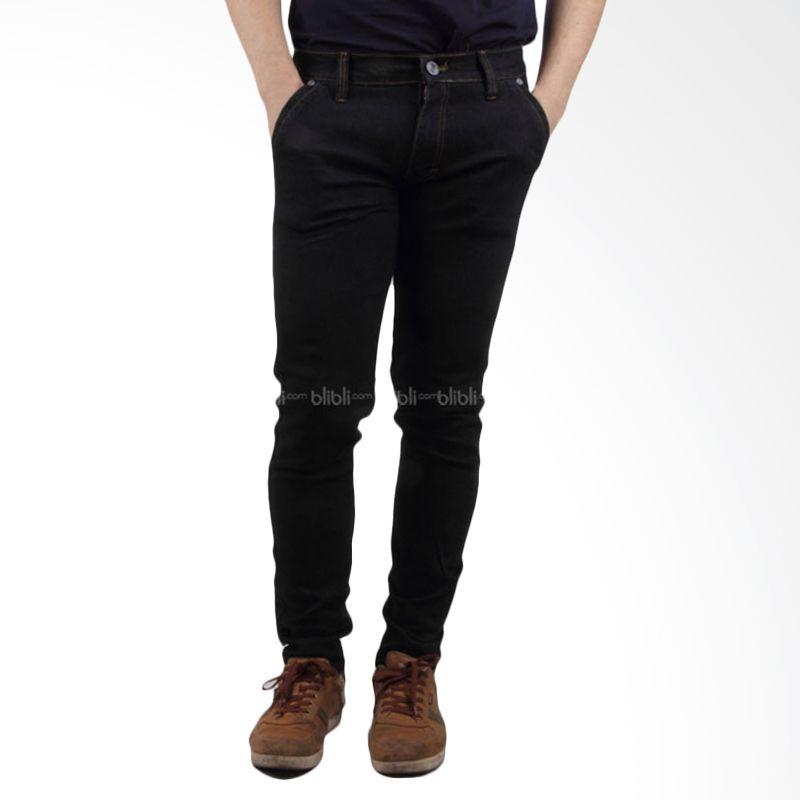 Old Egypt 655 Men Denim Jeans Black
