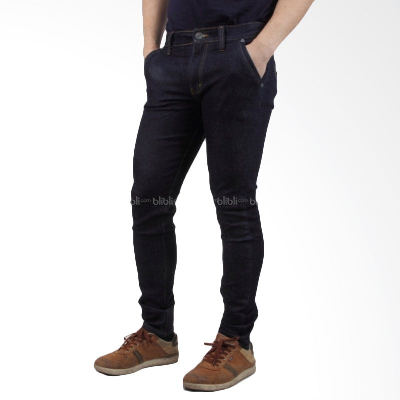 Old Egypt 655 Men Denim Jeans Dark Blue