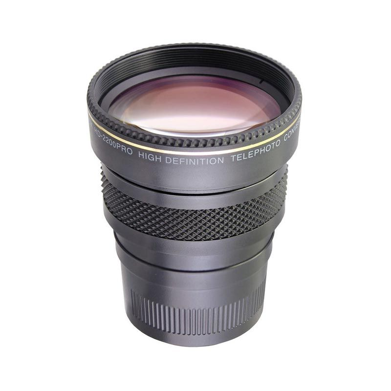 Raynox LE+ High Definition Super HD 2200PRO Telephoto Conversion Lens [2.2x]