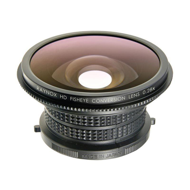 Raynox High Definition Diagonal Fisheye HDP-2800ES Conversion Lens for Camera [0.28x]