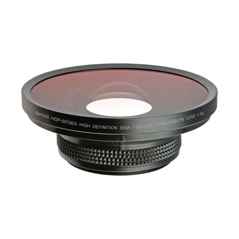 Raynox Semi-Fisheye HDP-5072EX HD Conversion Lens for Camera [0.5x]