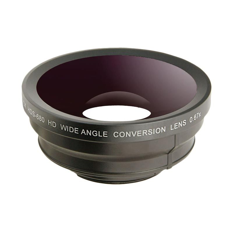 Raynox Wide Angle HDS-680 HD Conversion Lens for Camera [0.67x]