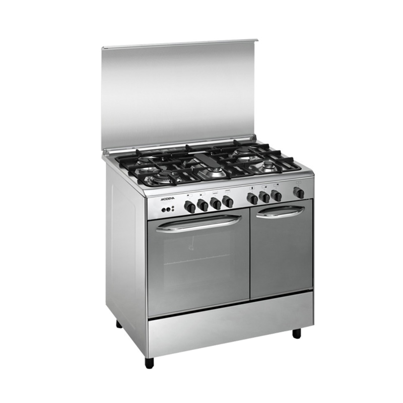 [PROMO] Modena FC3952 Kompor with Oven Freestanding [5 Tungku/90 cm/Stainless Steel]