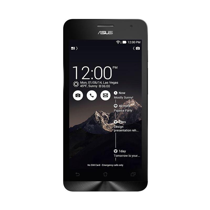 Asus Zenfone 4C ZC451CG Hitam Smartphone [RAM 2 GB]
