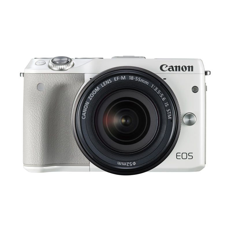 Canon EOS M3 with Le...amera DSLR