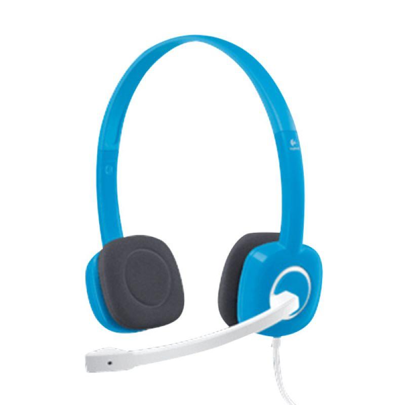 Logitech H150 Sky Blue Stereo Headset