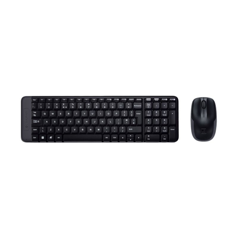 Logitech MK220 Combo Black Wireless Keyboard and Mouse