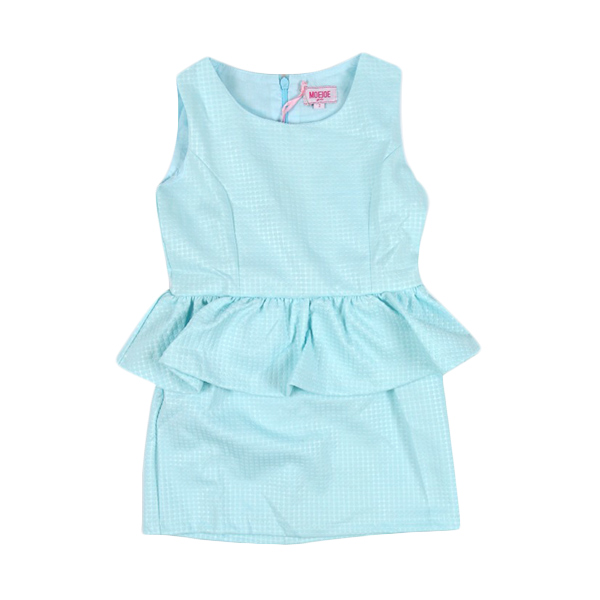 Moejoe Girl Cute Blue Dress Anak