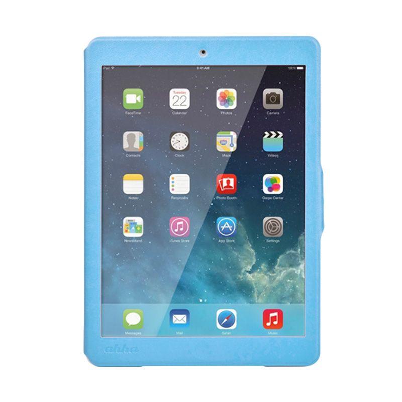 Ahha Arias Magic Blue Flip Cover Casing for iPad Air