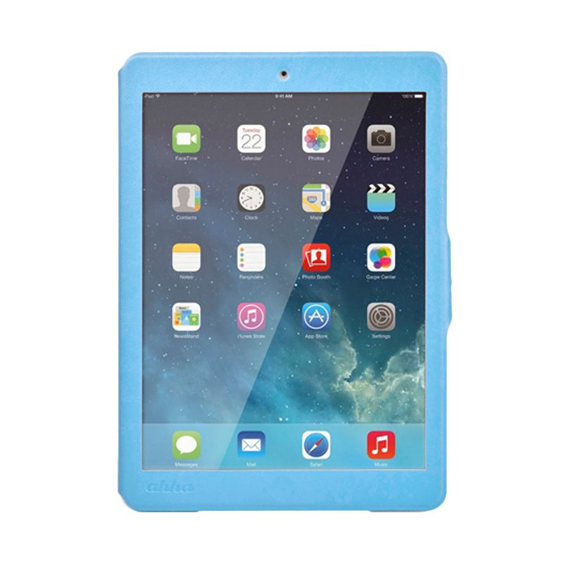 Ahha Arias Magic Blue Flip Cover Casing for iPad Mini