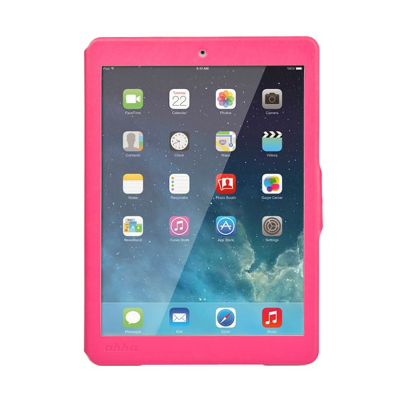 Ahha Arias Magic Fuchsia Flip Cover Casing for iPad Air