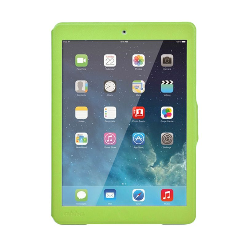 Ahha Arias Magic Green Flip Cover Casing for iPad Mini