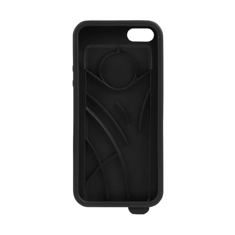 Ahha Ecko Amplifier Black Casing for Apple iPhone 5 or 5S