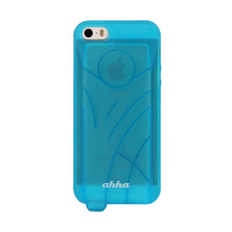 Ahha Ecko Amplifier Blue Casing for Apple iPhone 5 or 5S