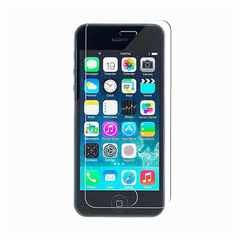High Quality Anti Scratch 9H Transparant Tempered Glass Screen Protector for iPhone 5S