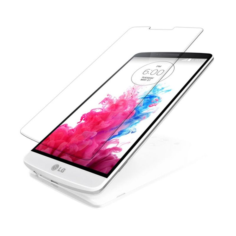 High Quality Transparant Tempered Glass Screen Protector for LG G3