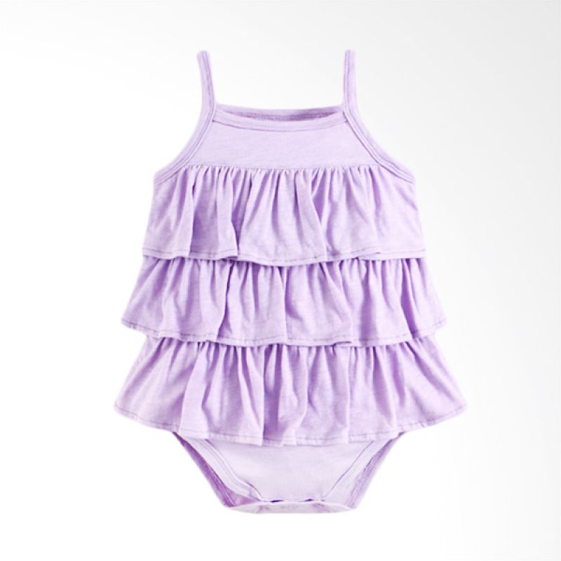 harga Mom N Bab Ruffle Purple Jumper Anak Blibli.com