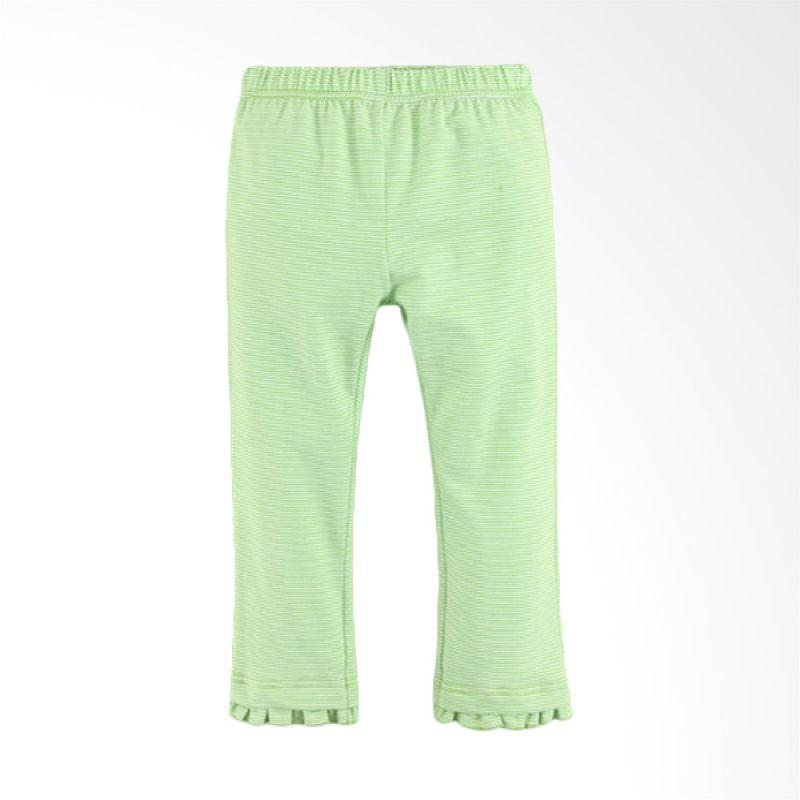 Mom N Bab Ruffle Green Legging Anak