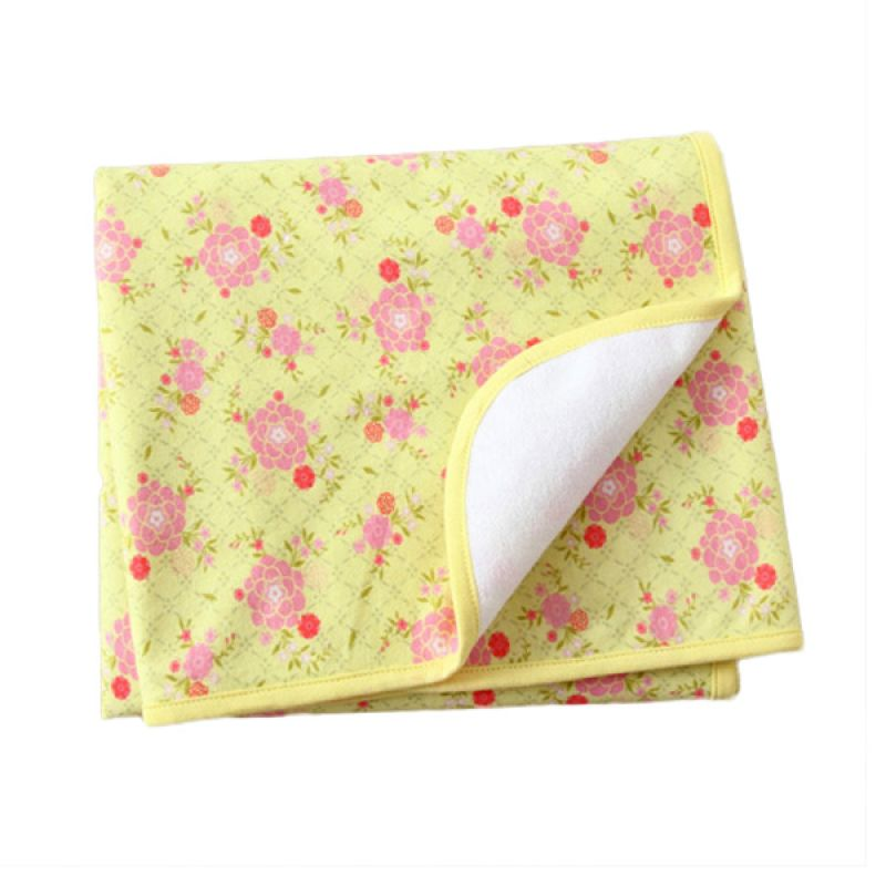 Mom N Bab Yellow Flower Alas Ompol [S]