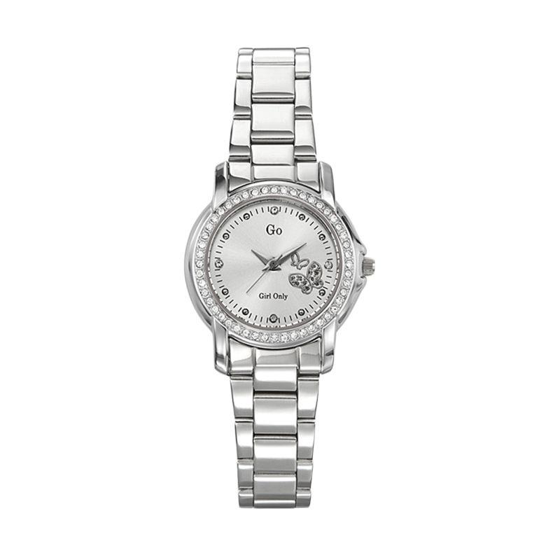 Go Girl Lady Watch 694118 Silver Jam Tangan Wanita