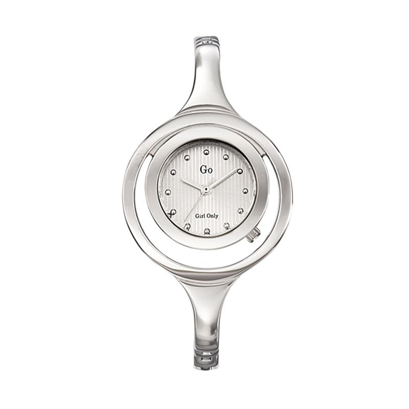 Go Girl Lady Watch 694333 White Jam Tangan Wanita