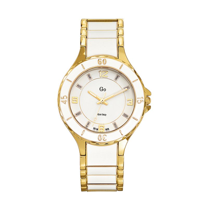 Go Girl Lady Watch 694794 Gold Jam Tangan Wanita