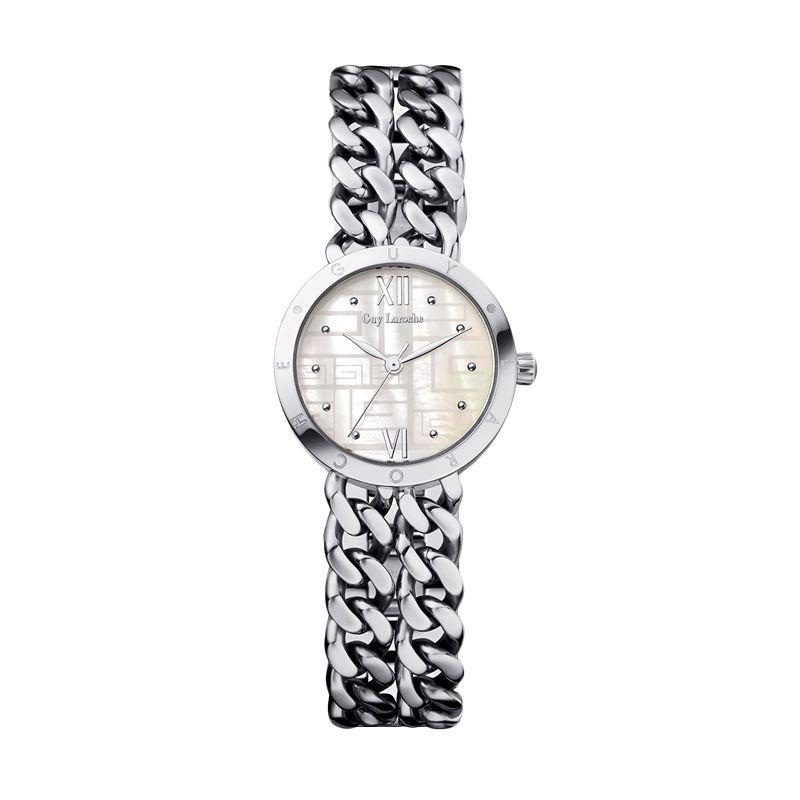 Guy Laroche Lady Watch L1009-01 Silver Jam Tangan Wanita