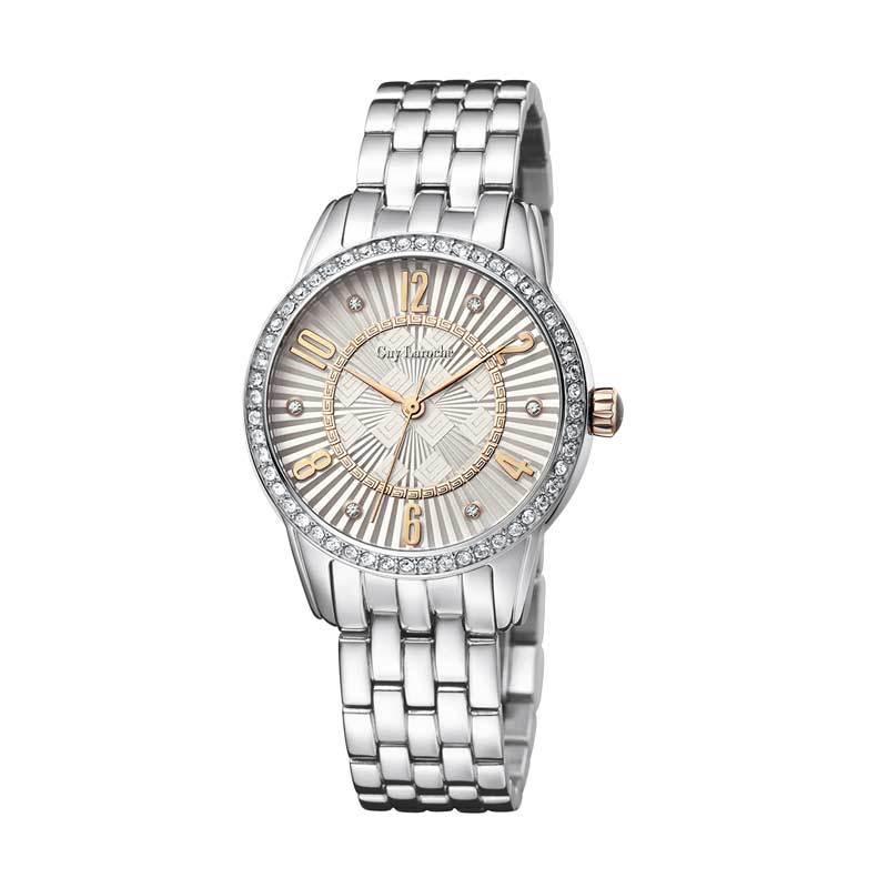 Guy Laroche Lady Watch L1011-07 Silver Jam Tangan Wanita