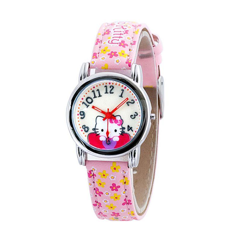 Hello Kitty HKFR1224-01A Pink Jam Tangan Anak