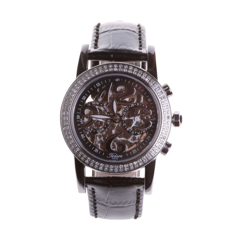 Teiwe Diamond Of Angel Swiss Watch TW2973-B Hitam Jam Tangan Wanita