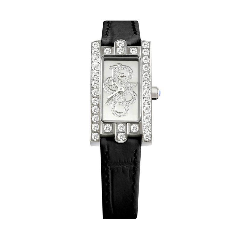 Teiwe Swiss Premier Watch TW3065B-B Black Jam Tangan Wanita