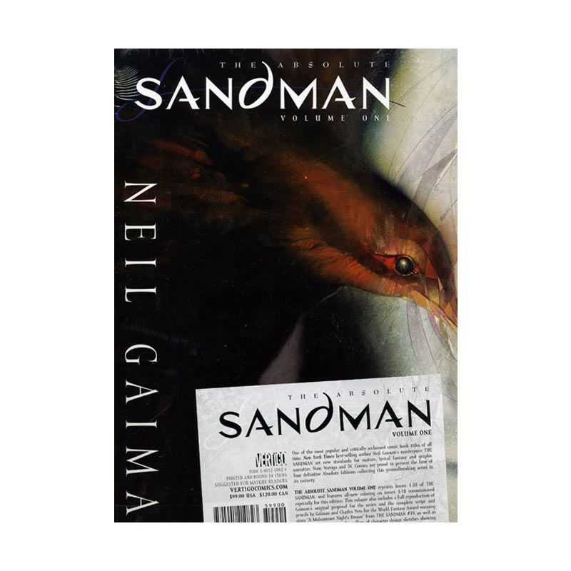 DC Comics Absolute Sandman Vol 01 HC Buku Komik