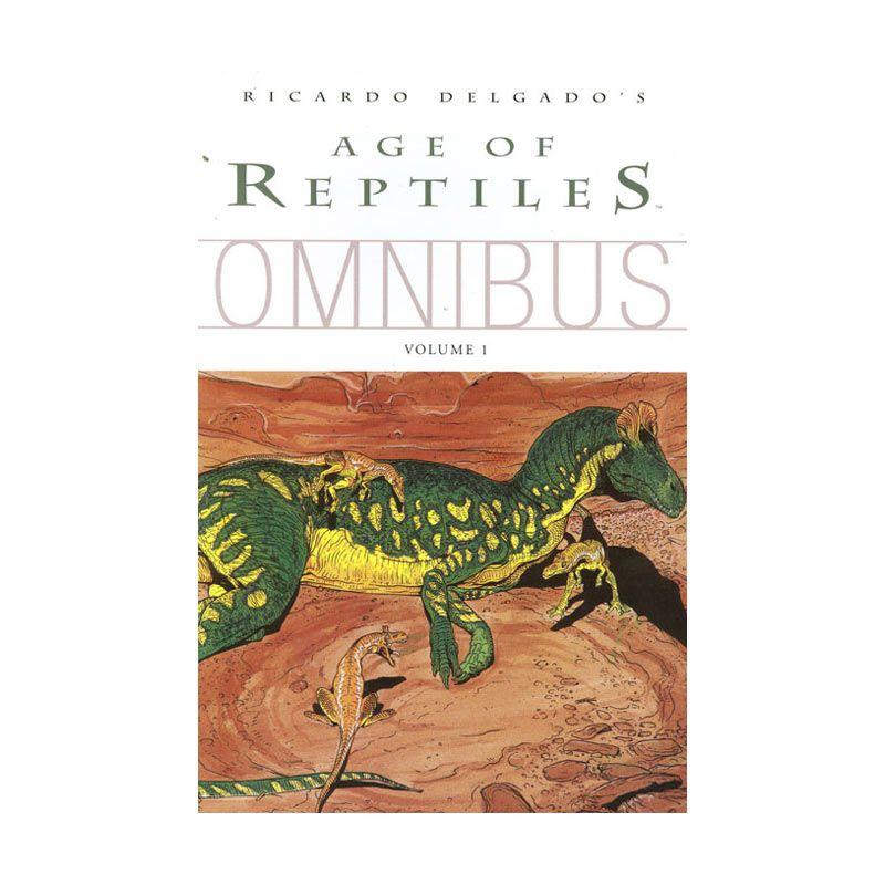 Dark Horse Comics Age Of Reptiles Omnibus Vol 01 Buku Komik