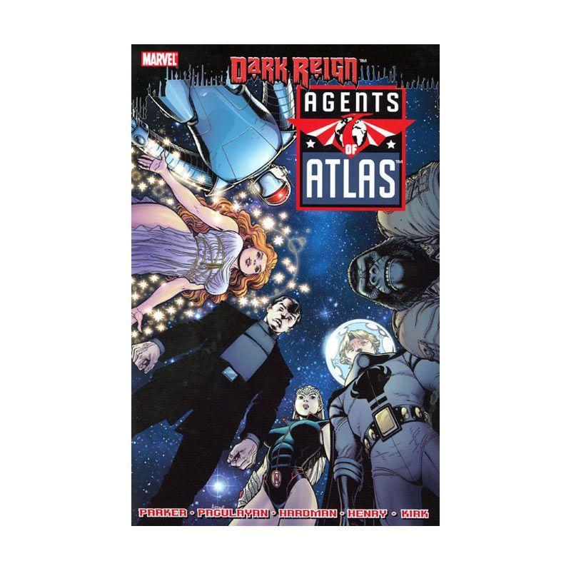 Marvel Comics Agents Of Atlas TP Dark Reign Buku Komik