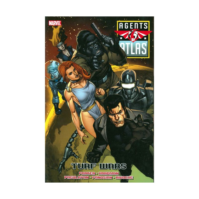 Marvel Comics Agents Of Atlas TP Turf Wars Buku Komik