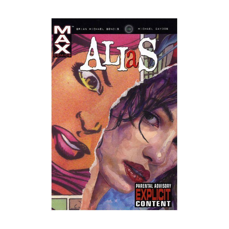 Marvel Comics Alias TP Vol 04 Secret Origin Of Jessica Jones Buku Komik