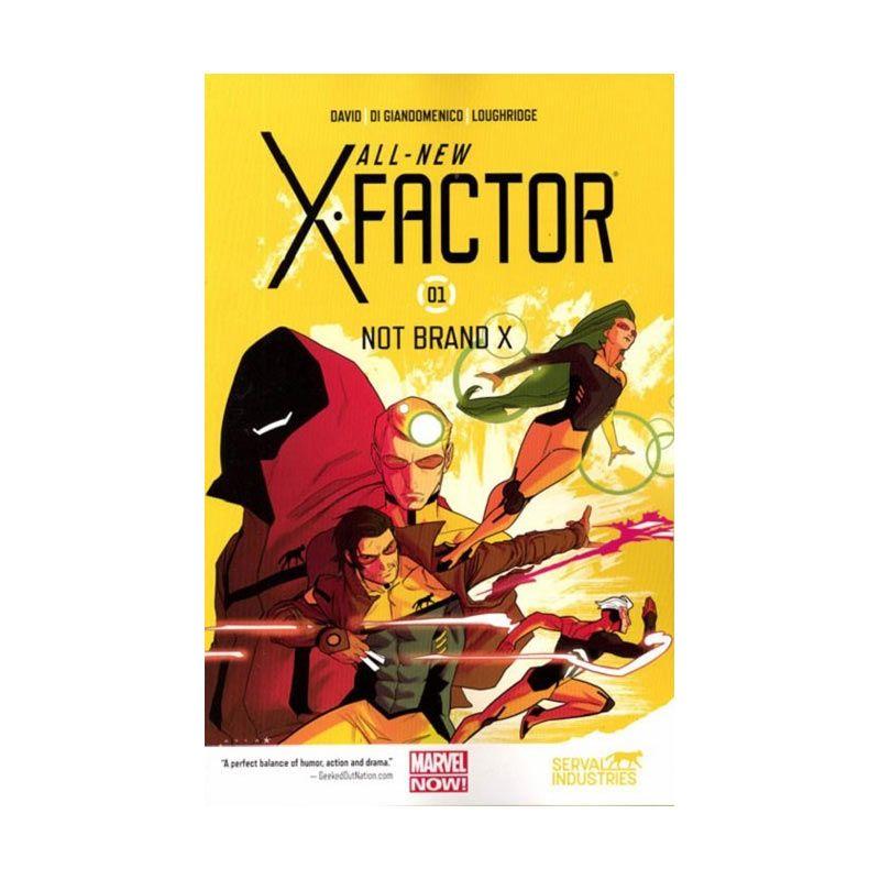 Marvel Comics All New X-Factor TP Vol 01 Not Brand X Buku Komik