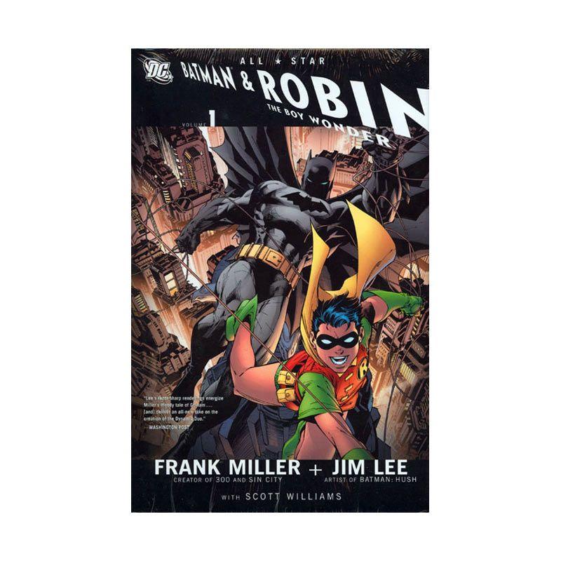 DC Comics All Star Batman And Robin The Boy Wonder HC Vol 01 Buku Komik