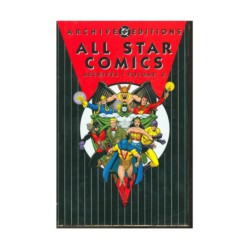 DC Comics All Star Comics Archives HC Vol 03 Buku Komik