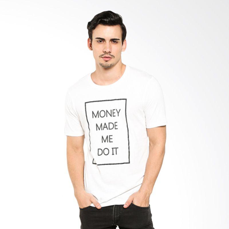 Money Laundry Made Me Do It White MLRYSSGTM0018 Kaos Pria Extra diskon 7% setiap hari Citibank – lebih hemat 10% Extra diskon 5% setiap hari