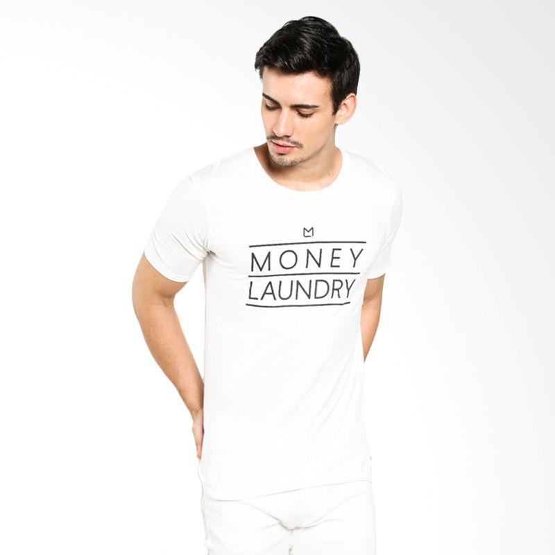 Money Laundry ML MLRYSSGTM0029 White Inline Kaos Pria Extra diskon 7% setiap hari Extra diskon 5% setiap hari Citibank – lebih hemat 10%